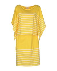 Boy by Band of Outsiders - Yellow Short Dress - Lyst