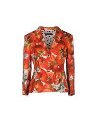 Dolce & Gabbana | Brown Blazer | Lyst