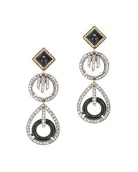 J.Crew | Black Lulu Frost For Equinox Earrings | Lyst