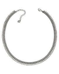 Swarovski | Metallic Vona All Around Necklace | Lyst