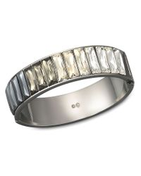 Swarovski | Metallic Platinum Bangle | Lyst