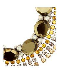 Marni   Black Crystal-Embellished Necklace   Lyst