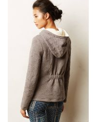 Anthropologie | Gray Quilted Cross Country Jacket | Lyst