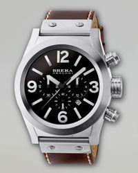 Brera Orologi - Brown Eterno Chronograph Watch for Men - Lyst