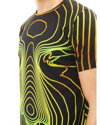 Christopher Kane - Black Face Digital print Tshirt for Men - Lyst