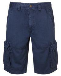 Crew Blue Cargo Shorts for men
