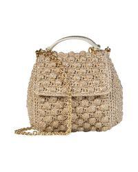 Dolce & Gabbana Metallic Small Fabric Bag