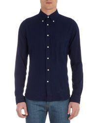 Gant Rugger Blue The Hugger Oxford Shirt for men