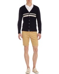 Gant Rugger Natural Cuffed Chino Shorts for men