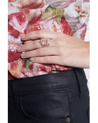 Iam By Ileana Makri Metallic Chantilly Rose Gold-plated Silver Ring
