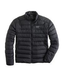 J.Crew Black Arcteryx Thorium Ar Jacket for men