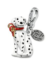Juicy Couture - Black Silvertone Limited Edition Dalmatian Charm - Lyst