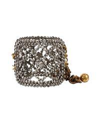 Lulu Frost | Metallic Victorian Shoe Buckle Cuff | Lyst