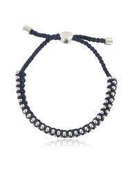Monica Vinader - Blue Rio Friendship Bracelet - Lyst