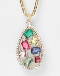 R.j. Graziano - Multicolor Color Luxe Pendant Necklace 32 - Lyst