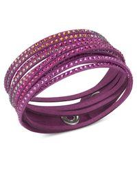 Swarovski | Red Slake Bracelet | Lyst