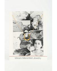 Urban Outfitters Metallic Miriam Merenfeld Lucky Horseshoe Necklace