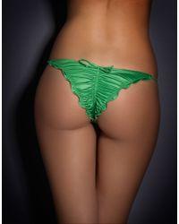 Agent Provocateur Green Berry Bikini Brief