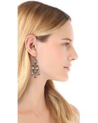 Alexis Bittar - Metallic Pavo Chandelier Crystal Earrings - Lyst