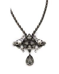 Auden - Black Duval Pendant Necklace - Lyst