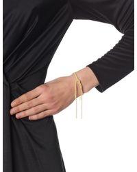 Carolina Bucci | Metallic Yellow Gold Lucky Tie Bracelet | Lyst