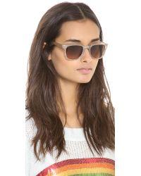 Carrera - By Jimmy Choo Transparent Sunglasses Transparent Nudebrown Grad - Lyst