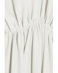 Chloé White Crepe Gown