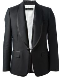 DSquared² Black Classic Smoking Suit for men