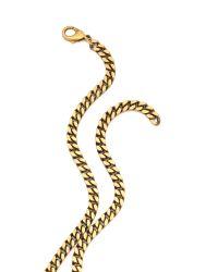 Erickson Beamon - Metallic Velocity Necklace - Lyst