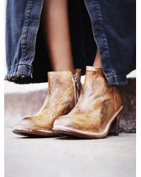 Free People Brown Bedstü Whiskey Sunset Boot
