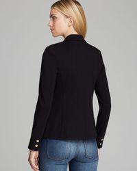 Juicy Couture Black Blazer Solid Ponte