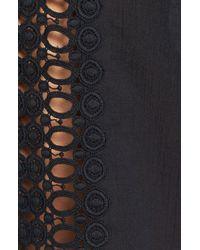 La Blanca   Black Crochet Trim Cover-up   Lyst