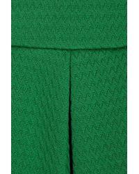 M Missoni Green Cottonblend Jacquard Dress