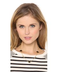 Marc By Marc Jacobs Metallic Short Evil Eye Medley Necklace