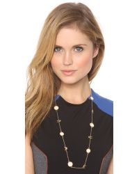 Marc By Marc Jacobs | Metallic Long Animal Medley Necklace | Lyst