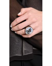 Marc By Marc Jacobs Blue Lenticular Olive Ring