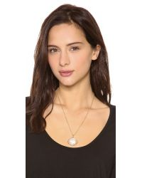 Marc By Marc Jacobs Natural Bunny Cameo Pendant Necklace