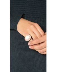 Marc By Marc Jacobs - Natural Bunny Cameo Ring - Lyst