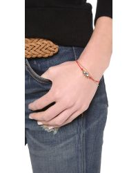 Marc By Marc Jacobs | Enamel Eye Friendship Bracelet Macintosh Apple Red | Lyst