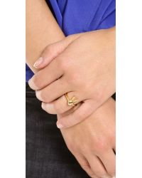Marc By Marc Jacobs - Metallic Bunny Ring - Lyst