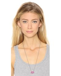 Marc By Marc Jacobs - Pink Sweetie Rings Necklace - Lyst