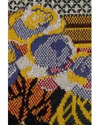 Mary Katrantzou Multicolor Intarsia Knitted Dress