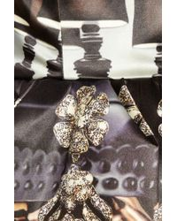 Mary Katrantzou - Multicolor Nebraska Printed Silk-blend Satin Dress - Lyst
