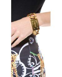 Michael Kors - Metallic Large Curb Chain Bracelet - Lyst