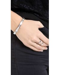 Michael Kors - Metallic Baguette Astor Bangle Bracelet - Lyst