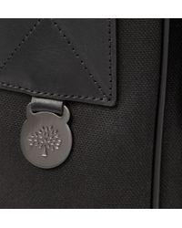 Mulberry Black Brynmore Leather-Trimmed Canvas Messenger Bag for men