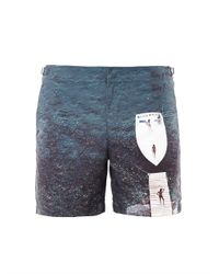 Orlebar Brown - Blue Jetty Set-Print Swim Shorts for Men - Lyst