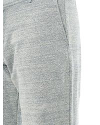 Orlebar Brown Gray Shep Cotton-Jersey Sweat Trousers for men