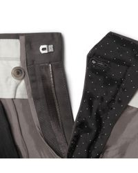 Paul Smith Gray Slim-Fit Cotton-Blend Trousers for men