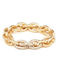 R.j. Graziano | Metallic Holiday Link Stretch Bracelet | Lyst